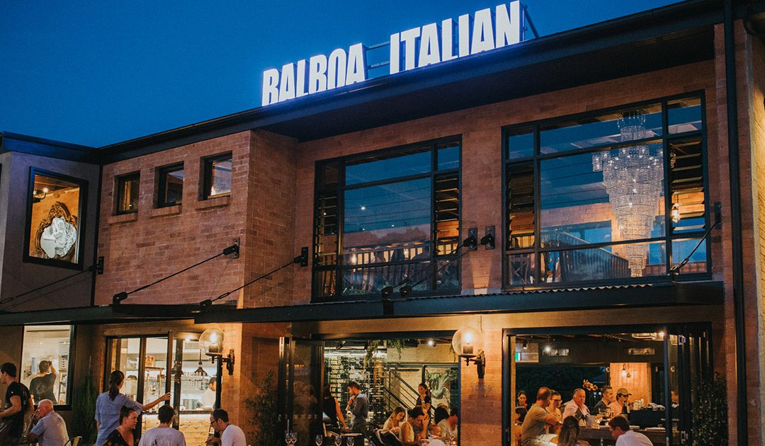 Balboa Italian Restaurant Palm Beach featured as one of the Best of the Gold Coast
